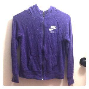 Juniors Nike purple jacket